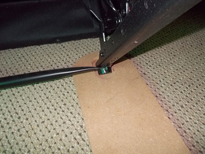 Make a Carpet Protector for your Furniture 16