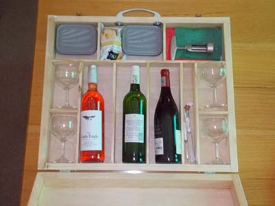 Make your own picnic case 22