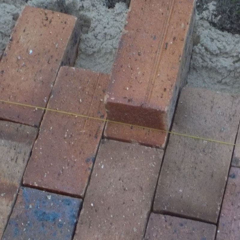 Lay some brick paving in your garden 19