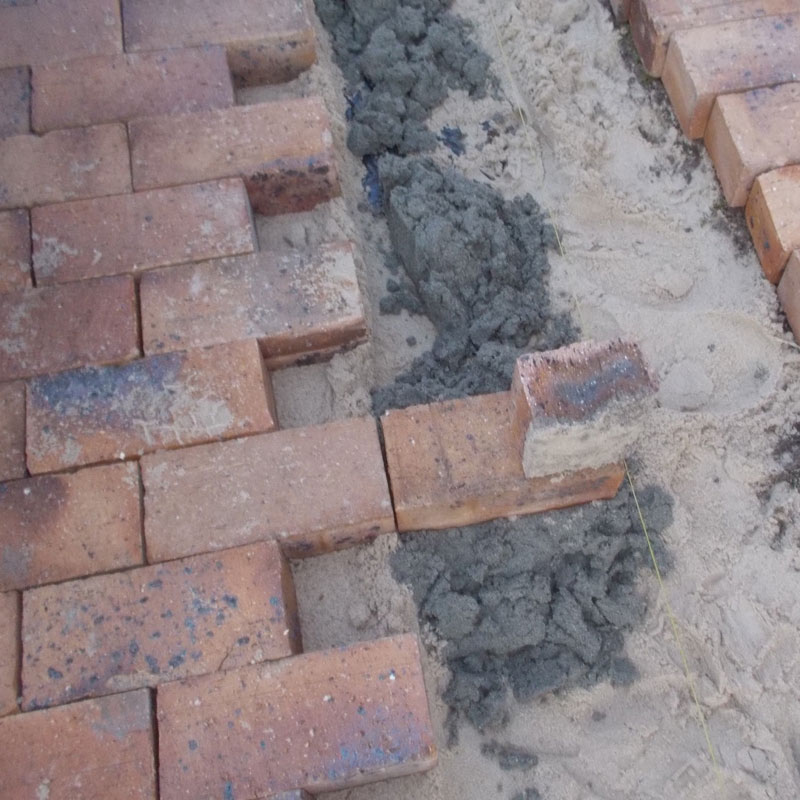 Lay some brick paving in your garden 21