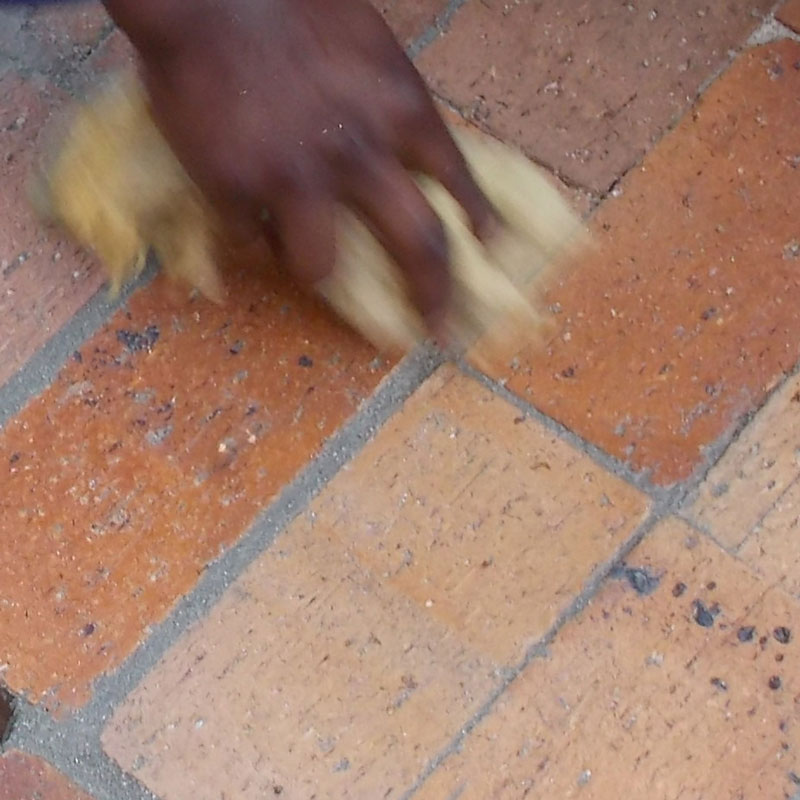 Lay some brick paving in your garden 27