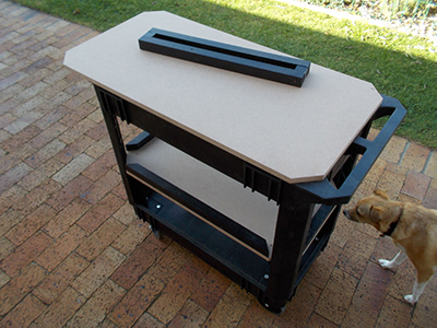 DIY Multi-purpose Trolley