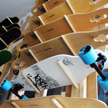 Neatly Store your Boards