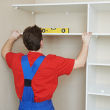 Easily install and fix cupboards