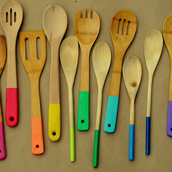 Add trendy bright colours to your kitchen