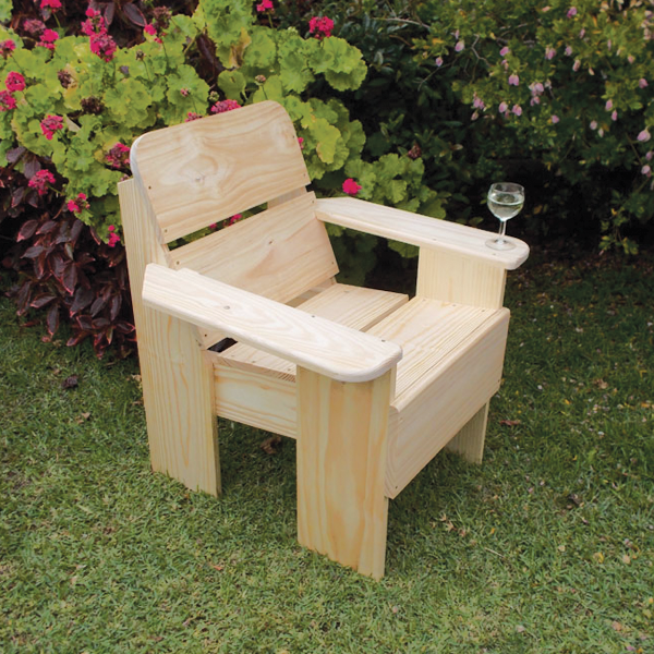 Make a chair for your patio
