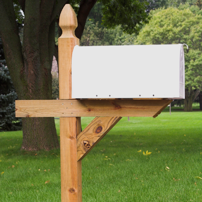 Build a post for your post box