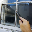 Efficiently replace a window pane