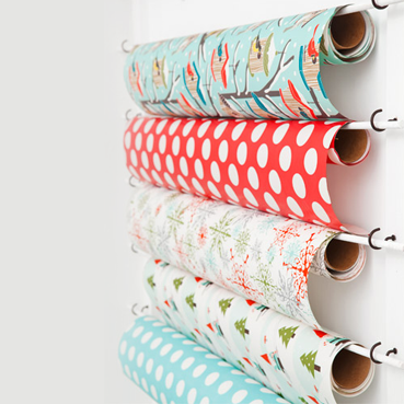 Keep your wrappin paper neat and tidy