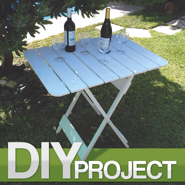 make a convenient folding table