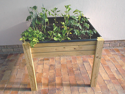 Make a Reaised Vegetable Garden 19