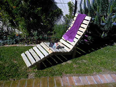 DIY Wooden Lounger Image