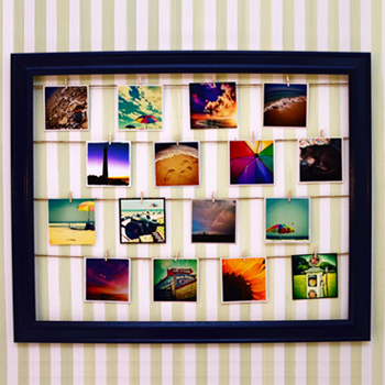 A great way to display photos