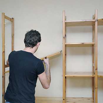 Easy to make shelving