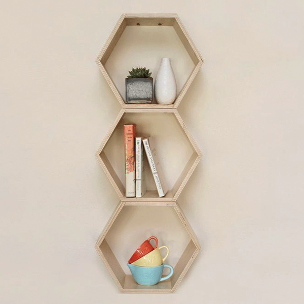 Trendy Shelving that Looks Great