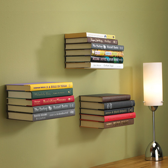 a great way to store and display your books