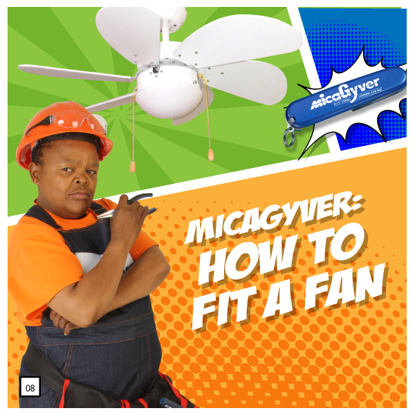 Install a Cieling Fan