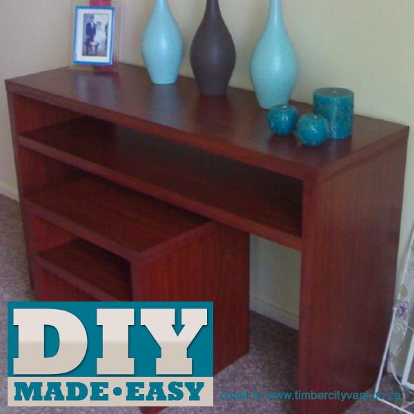 Make matching bedroom furniture