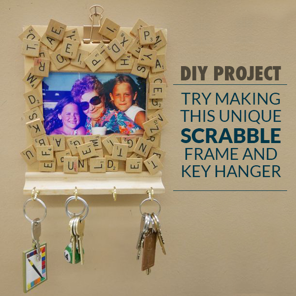 Scrabble Key Holder
