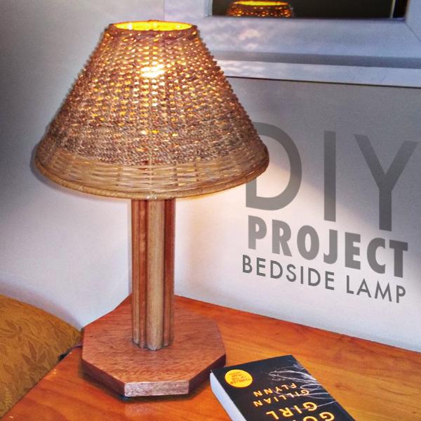 DIY Bedside Lamp