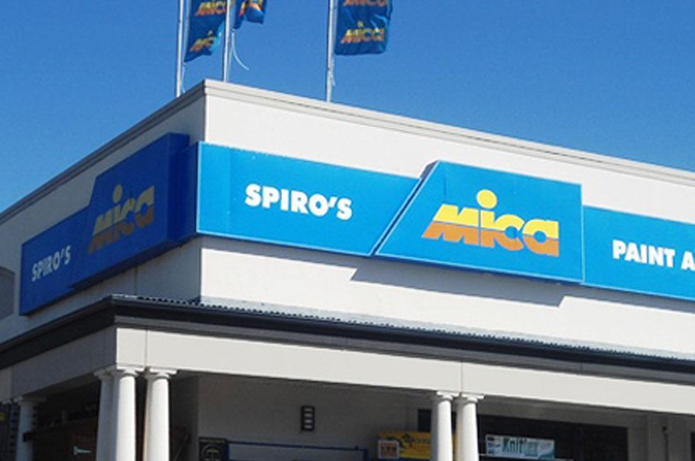 Spiros Store Banner