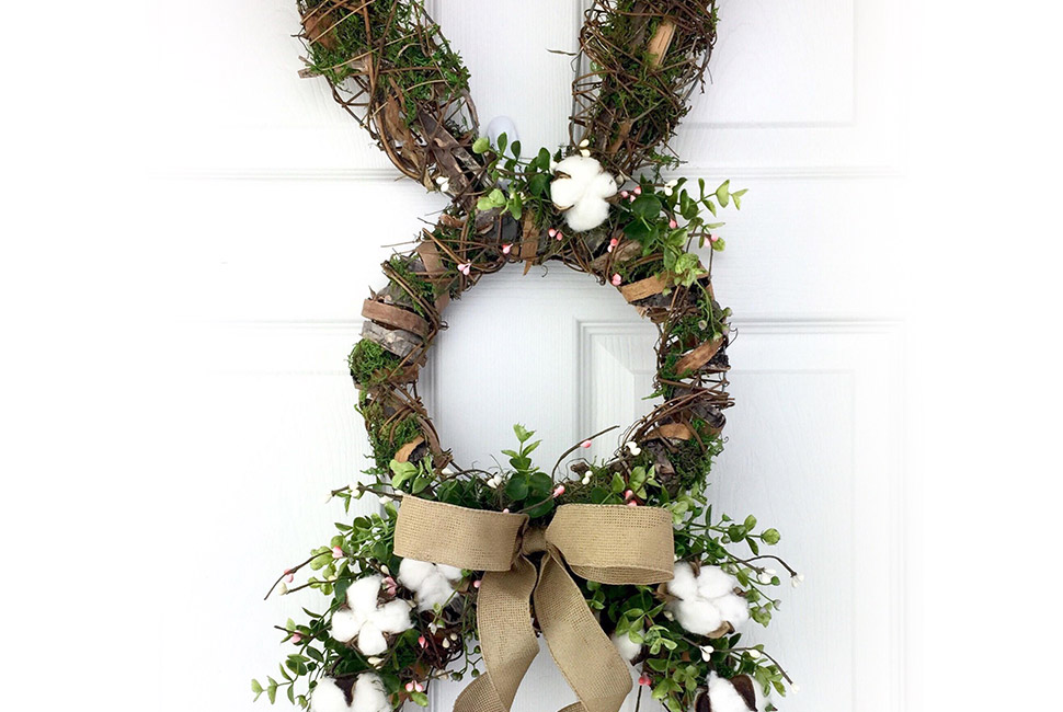 Easter Wreath Banner