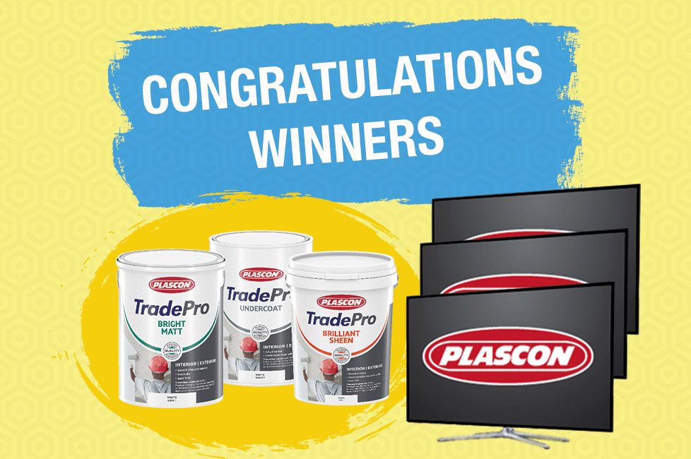 Mica Plascon Competition winners