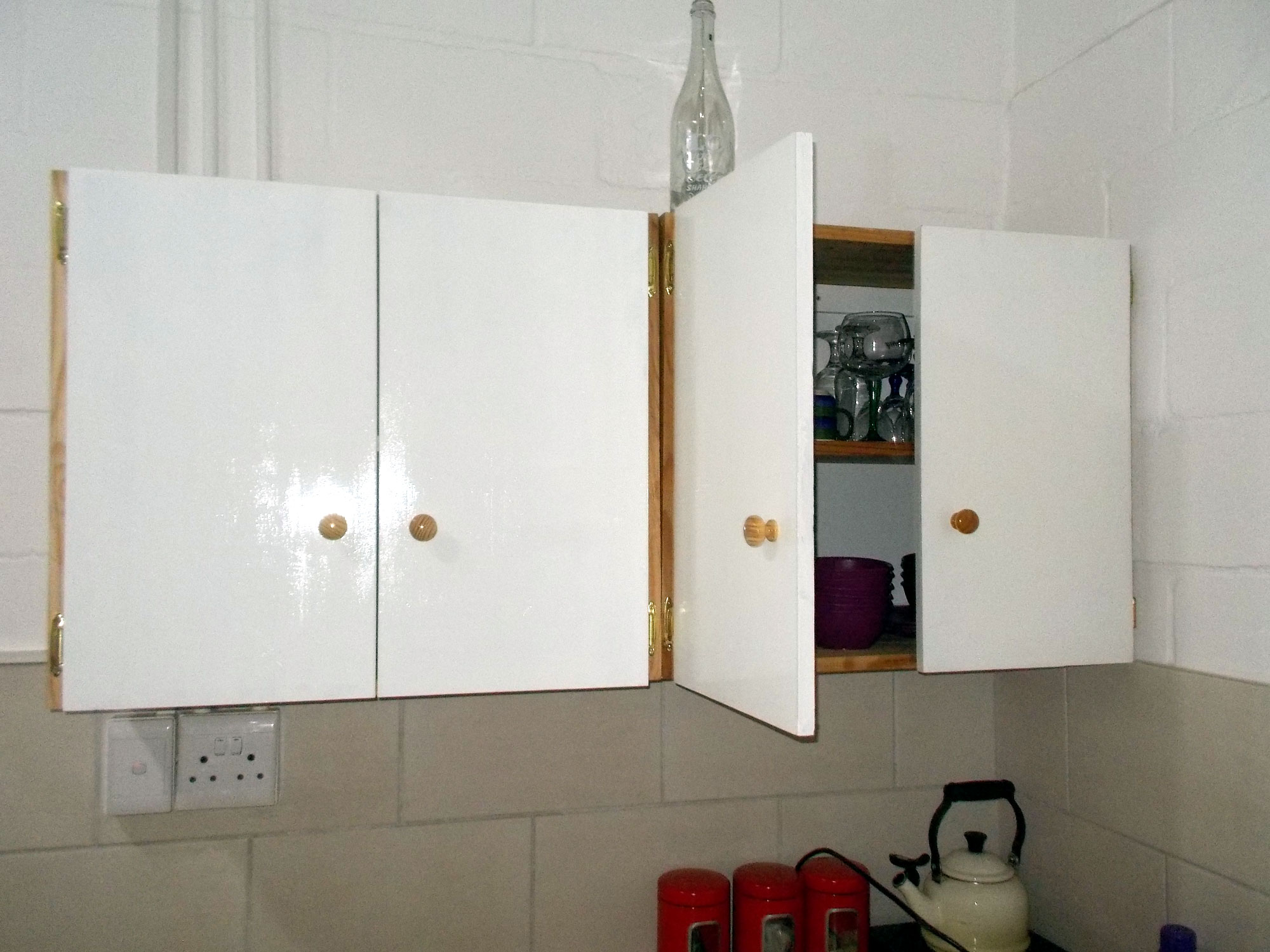 Mica Hardware Recycle Those Old Shelves Into Cupboards